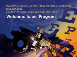 Our Program - MedStar Health