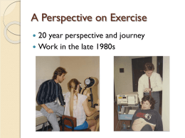 Exercise and Gestational Diabetes - Loma Linda University Medical