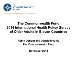 Article chartpack ppt - The Commonwealth Fund
