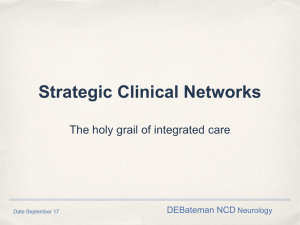 The National Neurological Conditions Programme
