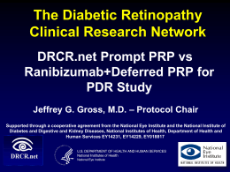 Deferred PRP Group - Jaeb Center for Health Research
