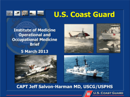 List of commonly used us coast guard acronyms salvon harman institute of medicine publicscrutiny Images