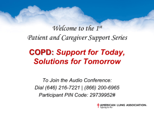 COPD - American Lung Association