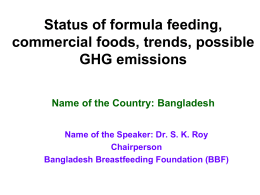 SK Roy - the international baby food action network (ibfan) asia