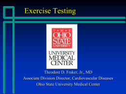 Exercise Testing.Physiology 7.29.14