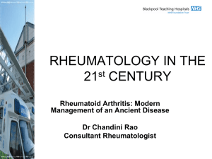 RHEUMATOLOGY IN THE 21st CENTURY