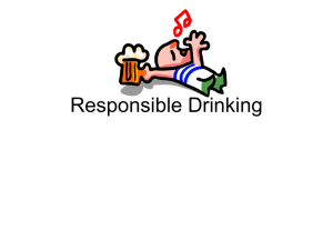 Responsible Drinking Presentation