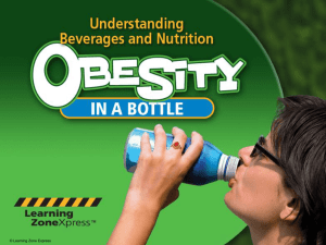 Obesity in a bottle