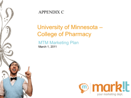 Appendix - C - Community Pharmacy Foundation