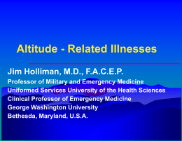 Altitude - Related Illnesses