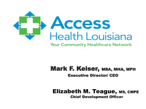 Access Health Presentation