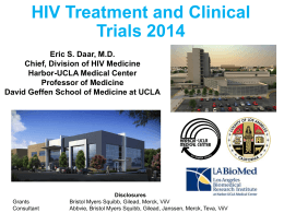 Clinical Trials and Anti