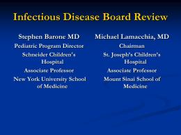Question 1 - American Academy of Pediatrics