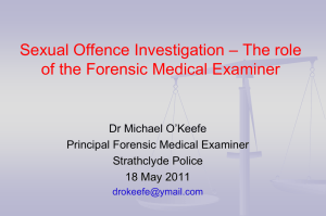 Forensic History and Examination - HI-Net