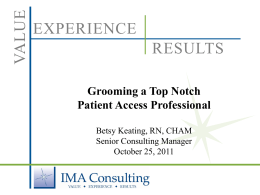 Grooming a Top Notch Access Professional