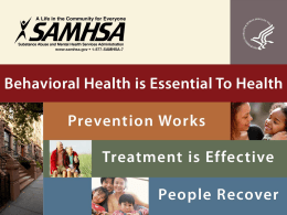 samhsa - Treatment Improvement Exchange