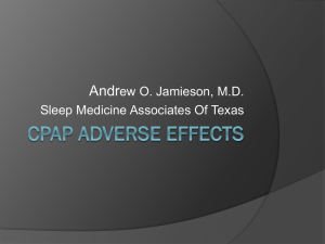 CPAP-Adverse-Effects - Sleep Medicine Associates of Texas