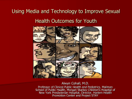 Adolescents and Sexual Health Information: Filling