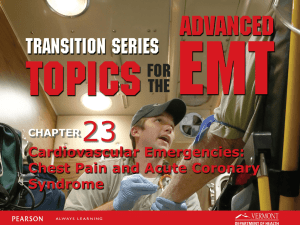 AEMT Transition - Unit 23 Acute Coronary Syndrome