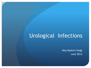 Urological Infections