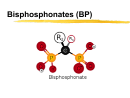 Bisphosphonates and Bone Remodeling