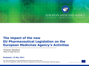 The new EU pharma package