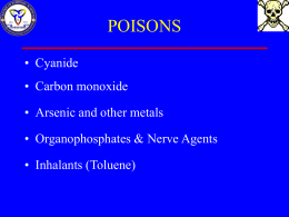 Other poisons