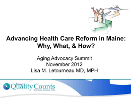 By Dr. Lisa Letourneau of Maine Quality Counts
