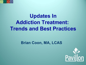 Updates in Addiction Treatment: Trends and Best Practices