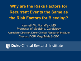 Why are the Risks Factors for Recurrent Events the Same as the