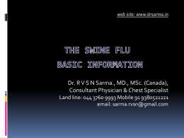 Swine Flu (Basics)