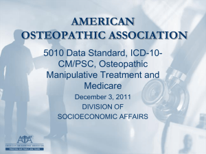 ICD-10-CM - Indiana Osteopathic Association