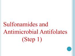 sulfonamides-part-1
