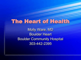 The Heart of Womens - Boulder Community Health