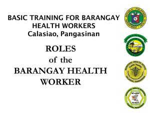 Dr  David Cababaro Bueno - BARANGAY TREASURERS' COMPETENCIES
