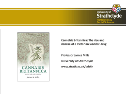 Cannabis Britannica: The Rise and Demise of a