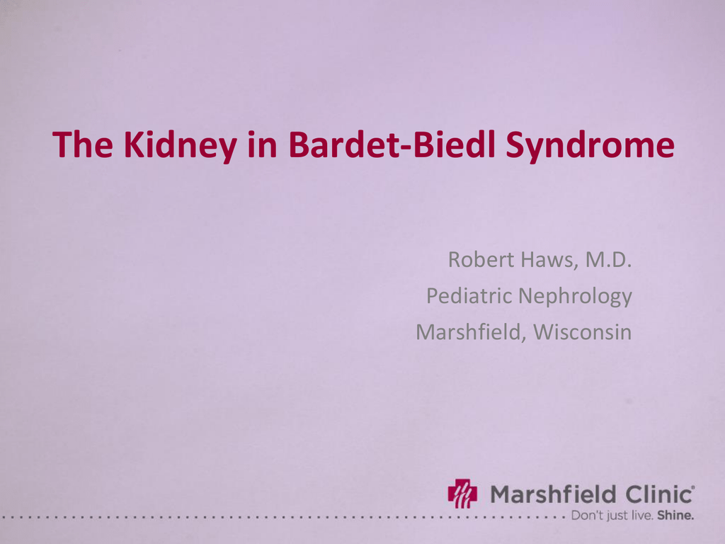 The Kidney in Bardet-Biedl Syndrome