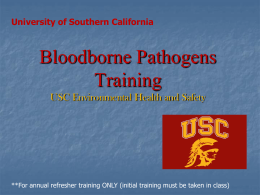 BBP Training slides - USC Administrative Operations