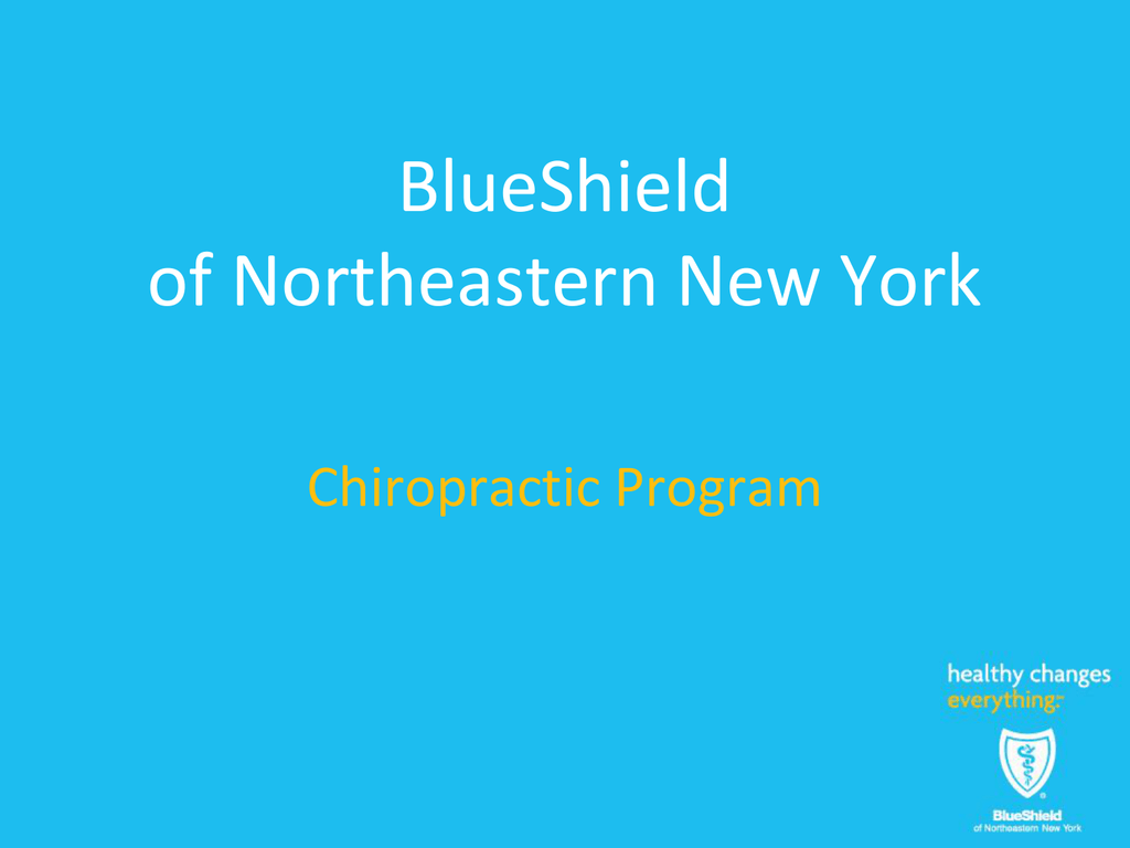 Chiropractic Program
