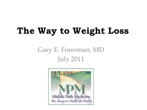 Weight Loss - Middle Path Medicine