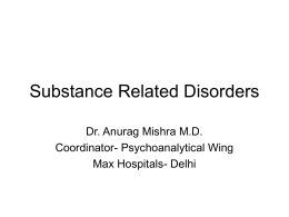Substance-Related-Disorders