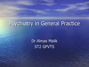 Almas psychiatry