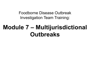 Multijurisdictional Outbreaks