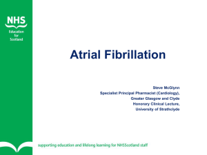 Atrial Fibrillation - NHS Education for Scotland