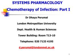infection-1 - London Metropolitan University