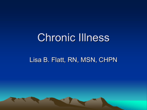 Chronic Illness PowerPoint Slides