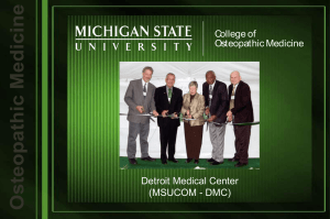 DMC - College of Osteopathic Medicine