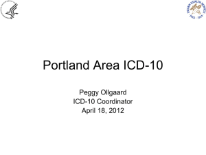 ICD10 Update