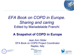 EFA Book on COPD in Europe – Sharing and caring Edited by