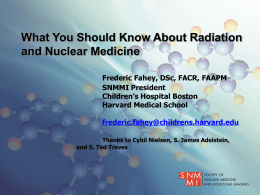 What You Should Know About Radiation and